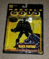 Marvel's Gold BLACK PANTHER action figure Panthers Prey Hero No More comic