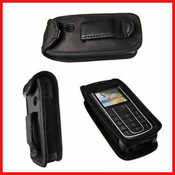 caseroxx Leather-Case with belt clip for Nokia 6230 6230i made of real leather