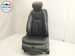 2006-2008 MERCEDES SL550 R230 FRONT LEFT DRIVER CLIMATE SEAT LEATHER BLACK OEM