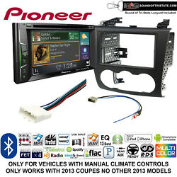Pioneer AVH-501EX install kit for 07-13 Nissan Altima (Manual Climate Controls)