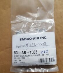 Fabco-air 53-ab-1503 3 Way Valve Plunger Qty 12 Br1.6b2