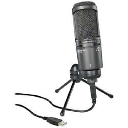 Audio-Technica AT2020USB+ Cardioid Condenser Microphone Black
