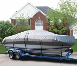 Great Boat Cover Fits Wellcraft 210 Sportsman Pulpit Bow Rails 21'9 L O/b 99-04