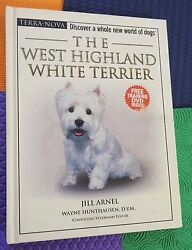 WESTIE dog breed owner guide HB pet care book + train DVD West Highland Terrier