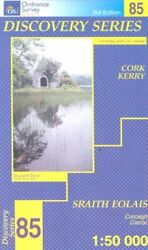 Discovery Map 85: Cork Kerry (Disco... by Ordnance Survey Irel Sheet map folded