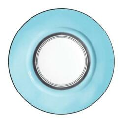Cristobal Turquoise By Raynaud, Dinner Plate, New From Display