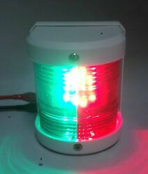 Pactrade Marine Boat Red Green Combination Bow Led Navigation Light