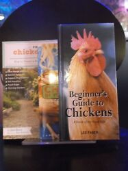 lot of 3 backyard chicken keeping books GuideCareSet Up EVERYTHING to know