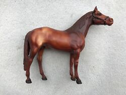 Vintage Breyer Horse #47 Man O War Thoroughbred Racehorse Red Shaded Variation