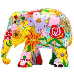Elephant Parade Ornament Collectable Artist Limited Edition Elephant Flowers