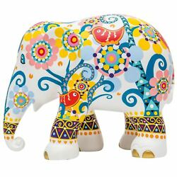 Elephant Parade Ornament Collectable Limited Edition Mosaic With Birds