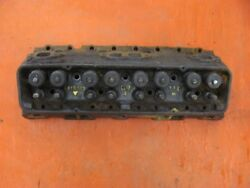 1957 57 Chevy 283 V8 Cylinder Head Fuel Injection Fi 3731539 Dated B-1-7