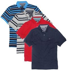 Tommy Hilfiger Men#x27;s Classic Fit Short Sleeve Polo Shirt $19.99