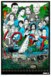 Lost By Tyler Stout - Rare Sold Out Not Mondo Print