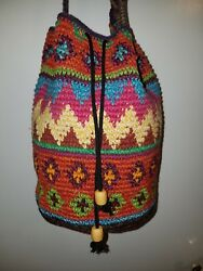 Crochet Bucket Bag Like Wayuu