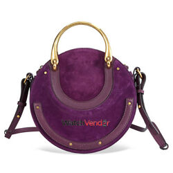 ChloeSmall Pixie Double Handle Bag- Intense Violine