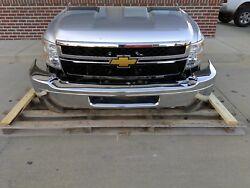 11-14 Chevy Silverado HD Front Clip Assembly 6.0 Gas Bumper Lamps Cooling