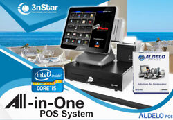 3nstar Pos System I5 4gb 500gb Ssd Restaurant Bakery Bar With Aldelopro New