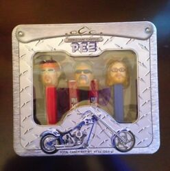 Le 2006 Pez Occ Orange County Choppers Limited Edition Collector's Tin Gift Set