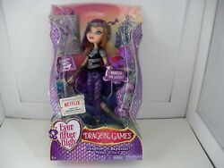 Ever After High Dragon Games Poppy Oand039hair Doll New Rare To Find Discontinued New