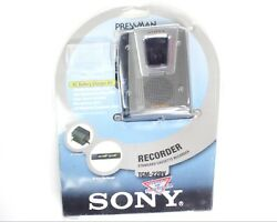 Sony Pressman TCM-22DV Cassette Recorder AC Adapter Battery Recharger Kit VOR