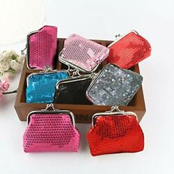 Best CHRISTMAS Presents Gift 6 Pcs Sequined Coin Purses For Children Girls USA