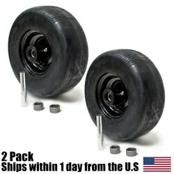 2 Front Solid Puncture Proof Tire Assembly 11x4x5 For Wright Stander 72460026
