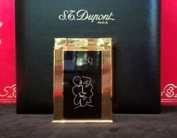 Rare Limited Edition S.t. Dupont Picasso Jeroboam Table Lighter 131/500