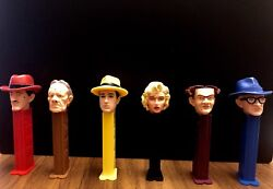 Walt Disney™ Dick Tracy Complete Character Collection Pez Dispensers Full Set