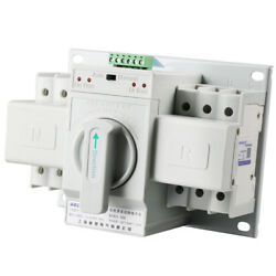 Dual Power Automatic Transfer Switch 3P 63A Three-Pole 380V ATS CB