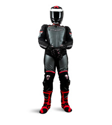 Closeout Agvsport Podium Ii Leather Racing Race Suit Was 699.99 Now 599.99