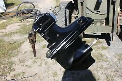 Trs Mercruiser Out Drive With Racing Modifications Lanthem Marine Bracket