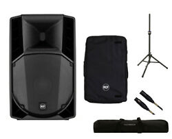 RCF ART 745-A MK4 Active Speaker Monitor + Cover + Stand + Bag + Mogami Cable