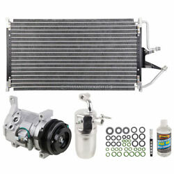AC Kit w AC Compressor Condenser & Drier For Chevy Pick-up Truck 2000-2002