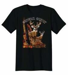 Whitetail Country Deer Cool T Shirt Tee