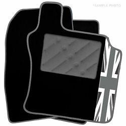 To Fit Range Rover Car Mats [lhd] 2002 - 2009 And Uk Logo [bw]