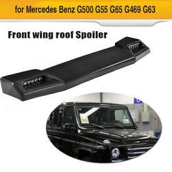 Auto Front Roof Spoiler Wing LED DRL For Mercedes Benz G500 G65 G550 G63 13-17