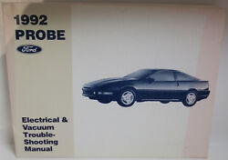Ford 1992 Probe Electrical And Vacuum Troubleshooting Manual