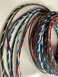 Automotive Wire - 12 Gauge Ga High Temp Gxl Wire 8 Striped Colors - 25and039 Ea U.s.a