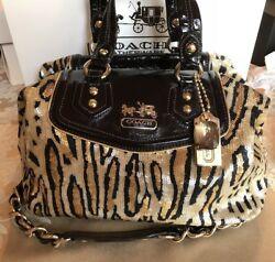 NWT COACH RARE MADISON LEOPARD SEQUIN AUDREY 14233 MSRP $898 CYBER MONDAY!