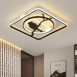 Led Chandelier For Living Room Bedroom Dimmable Round Rectangle Designed Fixture