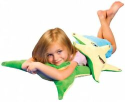 Smiling Starfish Kid Pillow Tactile Calming Style Soft Comfortable Cute Design