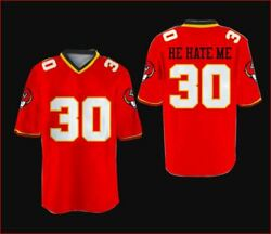 R Smart He Hate Me Football Jersey All Sewn Lv Outlaws All Size Rare Free Ship