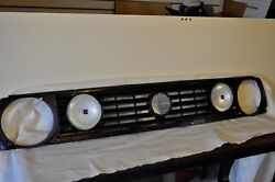 Vw Volkswagen Front Grille Grill Radiator Cover Headlight Trim Euro Hella Lights