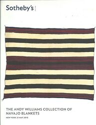 Sothebyandrsquos American Indian Navajo Blankets Andy Williams Collection Catalog 2013