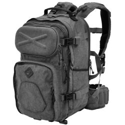 Civilian Lab Grayman Patrol Pack Thermo Cap Day Pack Padded Hydration Bag Grey