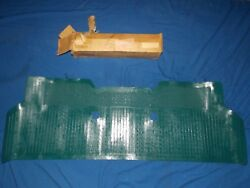 Nos Ford 1964 1965 Falcon Full Rear Floor Mat Rubber Emblem 260 289 Turquoise
