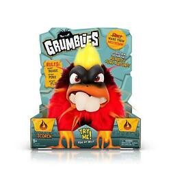 Pomsies Grumblies - Scorch Red Plush New In Box