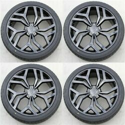 4set 22x9.5 5x120 Wheels And Tires Pkg Range Rover Sport Hse Supercharged Land