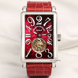 Franck Muller Crazy Hours Long Island Tourbillon 1300 CH T Platinum